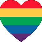 Rainbow Heart Pride by imaginarystory