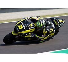 Cal Crutchlow in Mugello 2011 Photographic Print