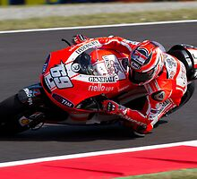 Nicky Hayden in Mugello 2011 by corsefoto