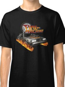 Time Machine Classic Car Delorean Classic T-Shirt