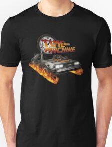Time Machine Classic Car Delorean Unisex T-Shirt