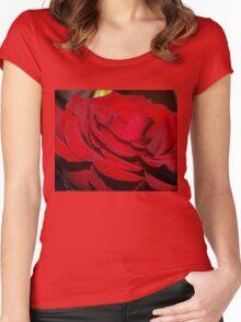 An open heart  Women's Fitted Scoop T-Shirt