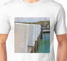 Beautiful White Harbour Bollards Unisex T-Shirt