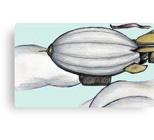 Airship Aloft Canvas Print