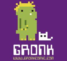 8-bit gronk t-shirt by katiecandraw