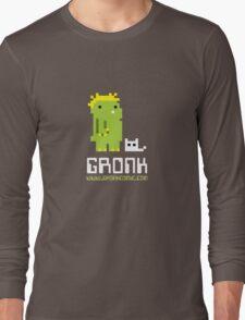 8-bit gronk t-shirt Long Sleeve T-Shirt