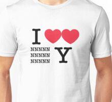 Heart NNY Unisex T-Shirt