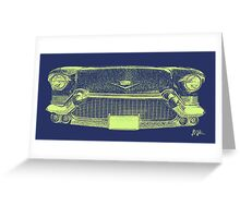 Cadillac Grill Greeting Card