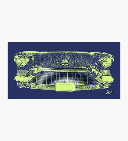 Cadillac Grill Photographic Print