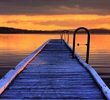 Jetty sunset by ImageBud