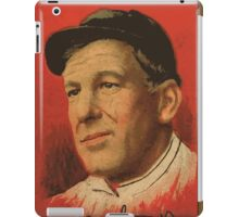 Benjamin K Edwards Collection Arlie Latham New York Giants baseball card portrait 001 iPad Case/Skin