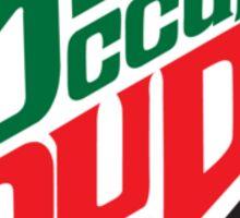 Occupy Dude Sticker