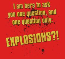 EXPLOSIONS?! One Piece - Short Sleeve