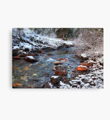 Ribbon Creek II Canvas Print