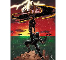 Black Panther & Storm Photographic Print