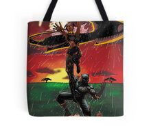 Black Panther & Storm Tote Bag