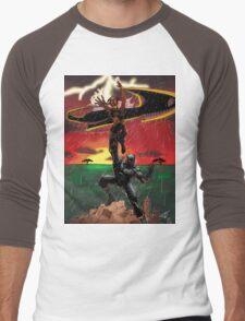 Black Panther & Storm Men's Baseball ¾ T-Shirt