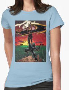 Black Panther & Storm Womens T-Shirt