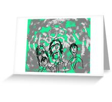 Something In The Air Greeting Card