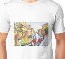 Fondamenta Bragadin, Venezia, Italia Unisex T-Shirt
