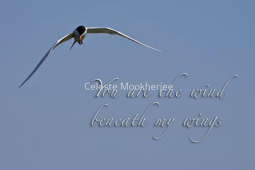 Wind beneath my wings by Celeste Mookherjee