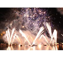 epcot-IllumiNations: Reflections of Earth  Photographic Print