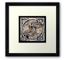 Spiral two: evolving currents Framed Print