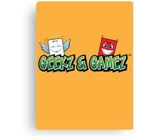 Geekz and Gamez Logo Canvas Print