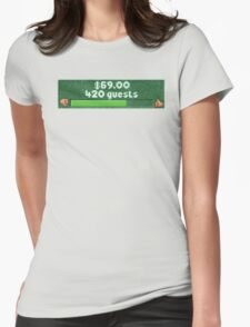 RCT 2 420 Guest Count Womens Fitted T-Shirt