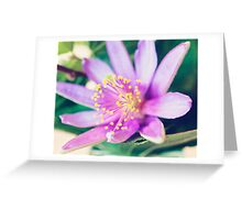 Lavender Star Greeting Card