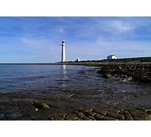 Point Lowly Lighthouse, Upper Spencer Gulf, South Australia Photographic Print