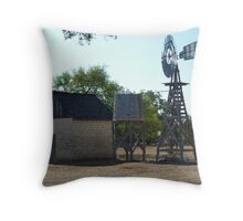 Lydon B. Johnson Family Homestead Throw Pillow