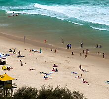 Summer Holidays at Surfers Paradise by Renee Hubbard Fine Art Photography