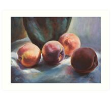Afternoon Peaches Art Print