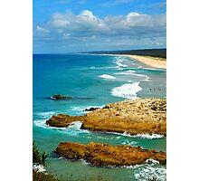Main Beach - North Stradbroke Island Photographic Print