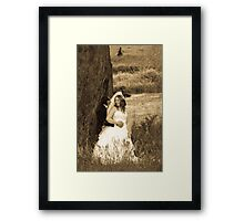 Stolen moments.  Framed Print