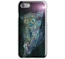 Psychedelic Phillipine tarsier iPhone Case/Skin