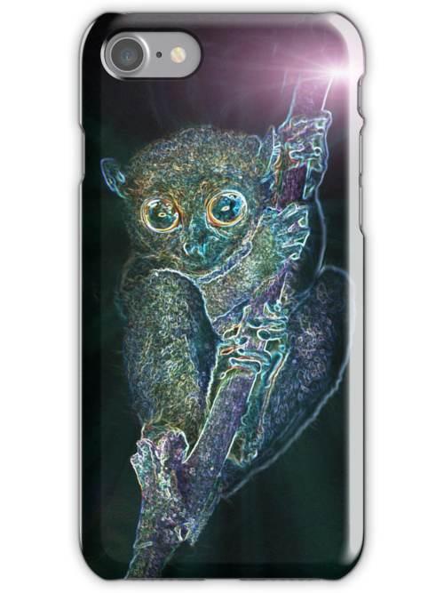 Psychedelic Phillipine tarsier by MotHaiBaPhoto Dmitry & Olga
