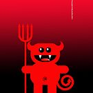 DEVIL (PHONECASE) by peter chebatte