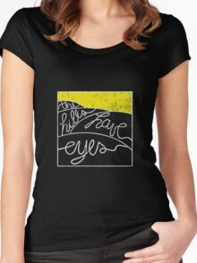 The Hills Have Eyes on The Weekend  Women's Fitted Scoop T-Shirt