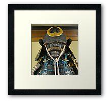 Samurai Armour, Kanazawa, Japan Framed Print