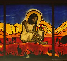A Stained Glass Window at New Norcia by myraj