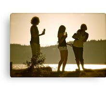 Summer Gathering Canvas Print