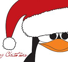 Christmas Penguin by wasabi-foto
