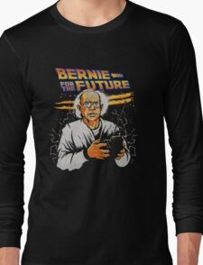 Bernie For The Future Long Sleeve T-Shirt