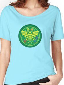 Zelda Ocarina of Time Emblem  Women's Relaxed Fit T-Shirt