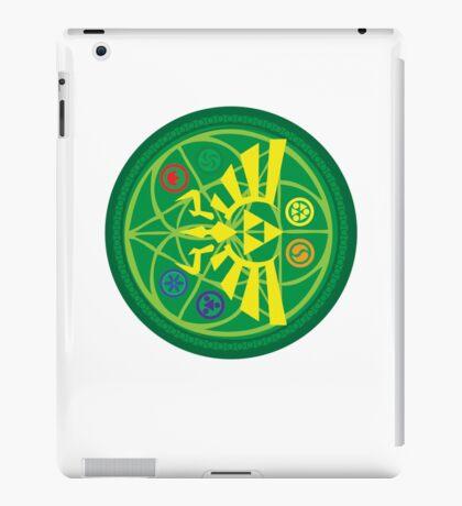 Zelda Ocarina of Time Emblem  iPad Case/Skin
