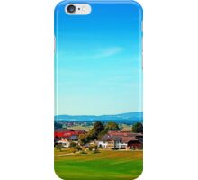Vibrant scenery in autumn season iPhone Case/Skin