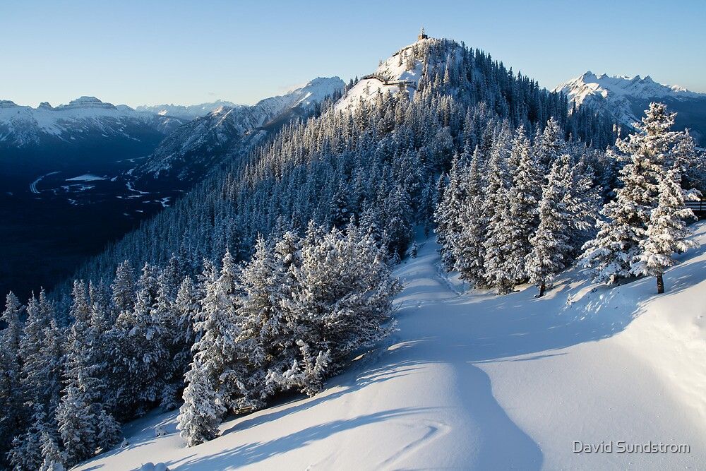 Sulphur Mountain by David Sundstrom