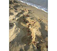 Sand scape Photographic Print